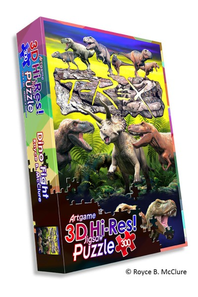 Dino Fight HiRes Puzzle