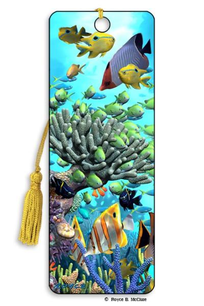 Coral Garden Bookmark