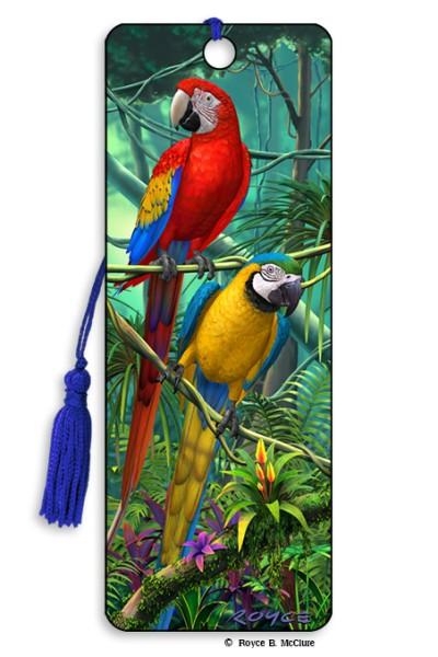 Parrots Bookmark