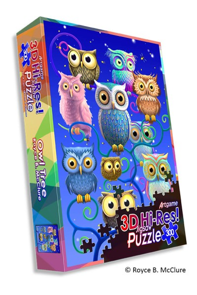 Owl Tree HiRes Puzzle