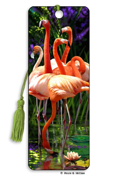 Flamingos Bookmark