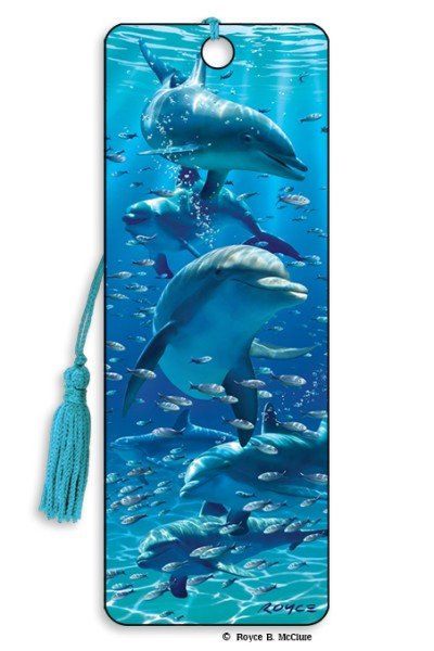 Dolphins Bookmark