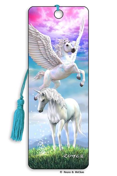 Pegasus & Unicorn Bookmark