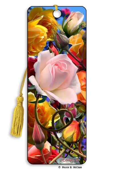 Roses Bookmark
