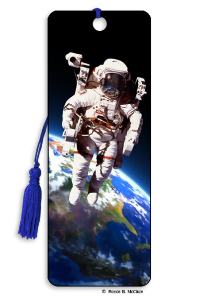Space Walk Bookmark