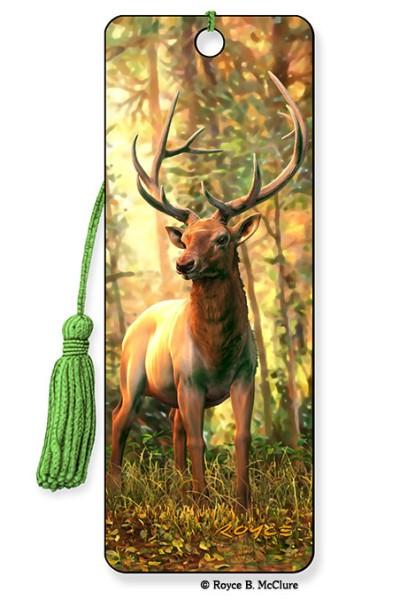 Elk Bookmark