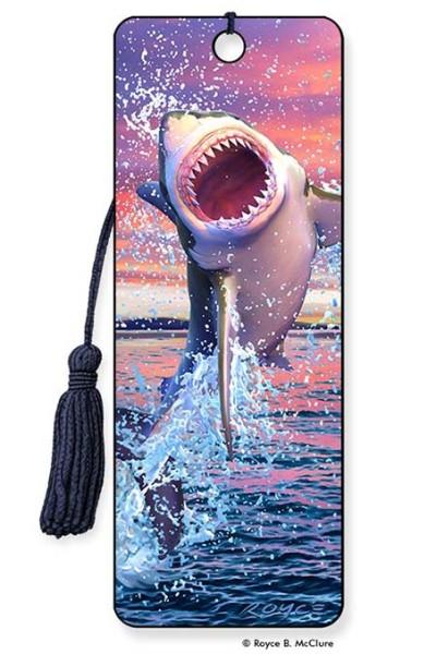 Leaping Shark Bookmark