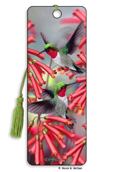 Hummingbirds Bookmark