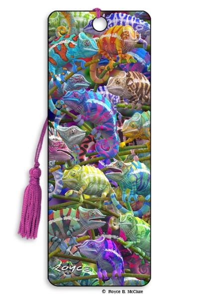 Chameleons Bookmark