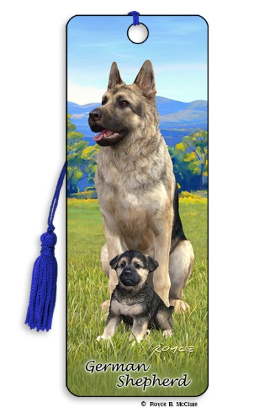 German Shepherd Bookmark