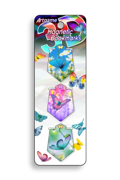 Butterfly Magic Magnetic Bookmark