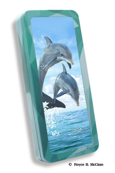 Dolphin Jumpers Pencil Tin