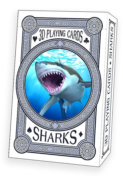 Sharks Playing cards - BLUE